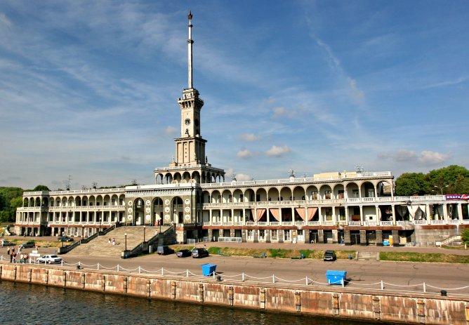 Северный речной вокзал :: Александр Сивкин - Социальная сеть о фотографии ФотоКто.