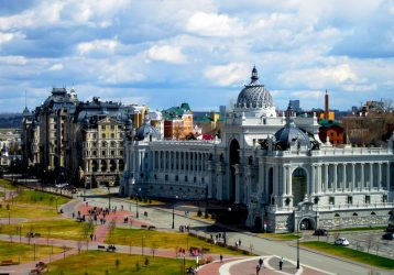 Казань, отличный вид