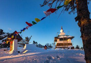 Гора Качканар и буддийский монастырь «Шедруб Линг»