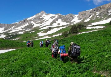 Маршрут 30 пеший тур по Кавказу3