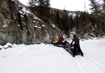 Снегоходный тур по Алтаю