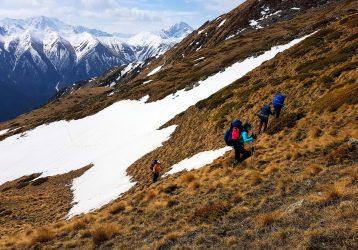 Подъем в горах Кавказа