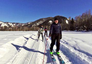 Лыжный тур по Алтаю