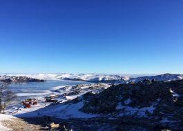 Малое море Байкал зимой