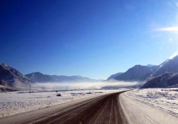 Зимний Алтай Чуйский тракт
