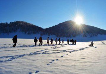 Активные туры на Алтай зимой