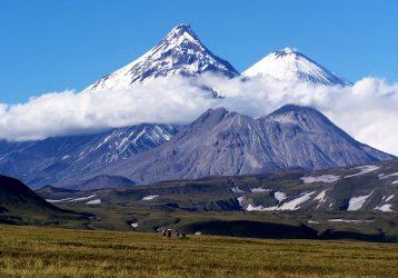 Живые вулканы