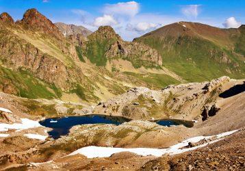 Озера хребта Абишира-Ахуба