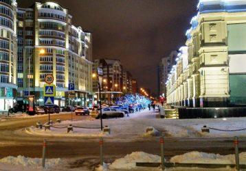 вечерний город Е