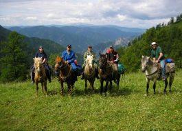 Конный тур по Алтаю 7 дней