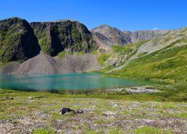 Долина вулкана Кропоткина