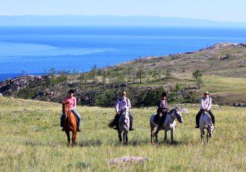 Конный тур по Байкалу для опытных конников