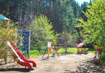 Усадьба Еловое детская площадка