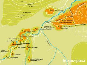 Карта-Белокурихи