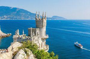 черное море замок