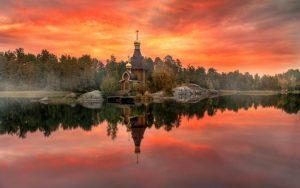 карелия и церковь