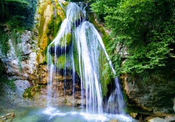 Когда просыпаются водопады. Алтай