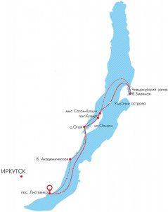 Круиз по Байкалу 6 дней