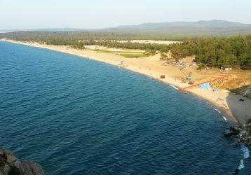 Золотой пляж Хужир