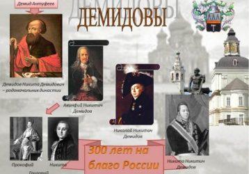 Невьянск Демидовы