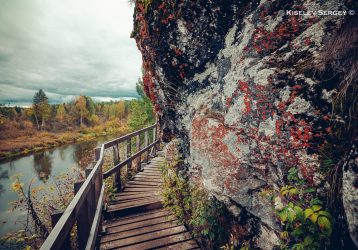 Оленьи Ручьи - лестница