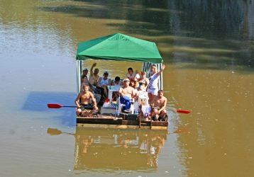 плоты на реке Серга (1)