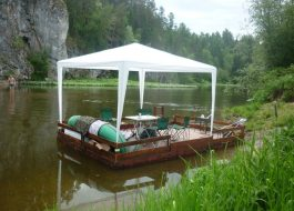 Сплавы на плоту по реке Серга на 1, 2 дня (от 8 чел)