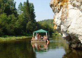 плоты на реке Серга (5)