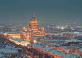 Санкт-Петербург-Зимой