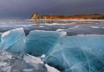 Драгоценности зимнего Байкала (осень — зима — весна)