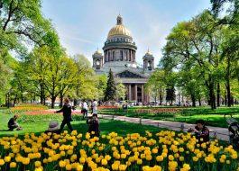 «…на зависть Европе всей!»  каникулы в Санкт – Петербурге!
