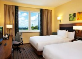 Номер-с-раздельными-кроватями-Hilton-Garden-Inn-Ufa-Riverside