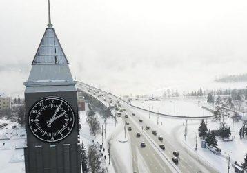 Красноярск-зима