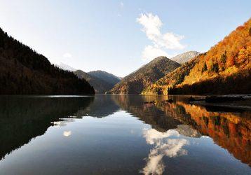 Озеро-Рица-Абхазия-зима18