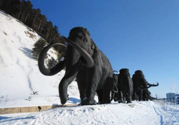 Ханты-Мансийск парк с мамонтами
