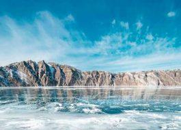 Байкал-зима-лед